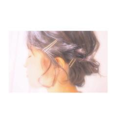 簡単ヘアアレンジ ロープ編み ヘアアレンジ ボブ ヘアスタイルや髪型の写真・画像
