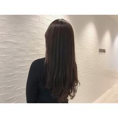 うる艶カラー エレガント ロング 艶髪 ヘアスタイルや髪型の写真・画像