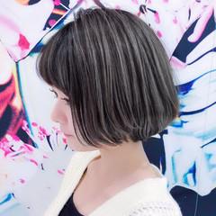 小顔 簡単ヘアアレンジ ナチュラル くびれボブ ヘアスタイルや髪型の写真・画像