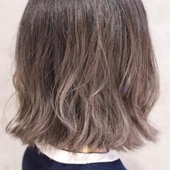 ガーリー バレイヤージュ ダブルカラー グラデーションカラー ヘアスタイルや髪型の写真・画像