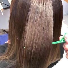 髪質改善 ナチュラル トリートメント 最新トリートメント ヘアスタイルや髪型の写真・画像