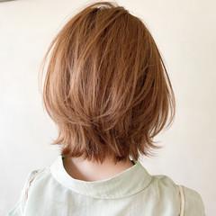 ボブ ナチュラル アンニュイほつれヘア 大人かわいい ヘアスタイルや髪型の写真・画像