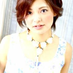 春 モテ髪 パーマ 大人かわいい ヘアスタイルや髪型の写真・画像
