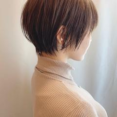 ショート ショートヘア ショートボブ ウルフカット ヘアスタイルや髪型の写真・画像