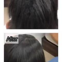 ボブ 縮毛矯正 美髪 髪質改善トリートメント ヘアスタイルや髪型の写真・画像