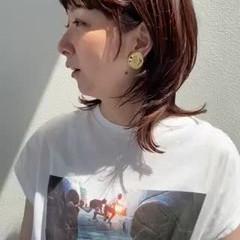 ウルフカット ナチュラルウルフ ナチュラル ネオウルフ ヘアスタイルや髪型の写真・画像