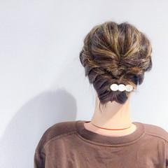 上品 結婚式 ボブ ヘアアレンジ ヘアスタイルや髪型の写真・画像