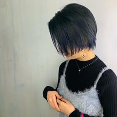 抜け感 モード ショート 大人女子 ヘアスタイルや髪型の写真・画像