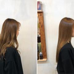 小顔ヘア 髪質改善 似合わせカット ロング ヘアスタイルや髪型の写真・画像