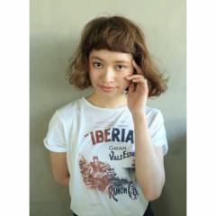 春 ショート ガーリー 外国人風 ヘアスタイルや髪型の写真・画像