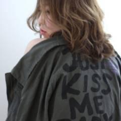ミディアム アッシュ 外国人風 ストリート ヘアスタイルや髪型の写真・画像