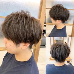 ヘアアレンジ パーマ スポーツ ナチュラル ヘアスタイルや髪型の写真・画像