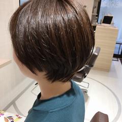 美髪 ブランジュ アッシュ ナチュラル ヘアスタイルや髪型の写真・画像
