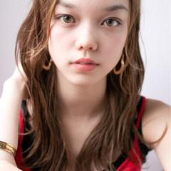 ヘアアレンジ セミロング モテ髪 大人かわいい ヘアスタイルや髪型の写真・画像