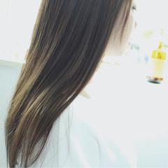 ナチュラル ロング 秋 透明感 ヘアスタイルや髪型の写真・画像