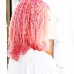 ベリーショート ショートボブ ボブ ベリーピンク ヘアスタイルや髪型の写真・画像
