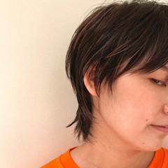 モード ハイライト ショートボブ ショートヘア ヘアスタイルや髪型の写真・画像