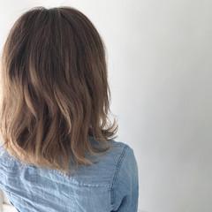 ボブ ナチュラル 色気 秋 ヘアスタイルや髪型の写真・画像