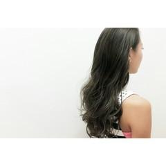 外国人風 暗髪 大人女子 かっこいい ヘアスタイルや髪型の写真・画像