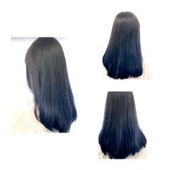 ブルージュ ストリート ダブルカラー グラデーションカラー ヘアスタイルや髪型の写真・画像