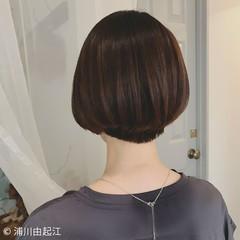 グラデーションカラー ゆるふわ ボブ ショートボブ ヘアスタイルや髪型の写真・画像