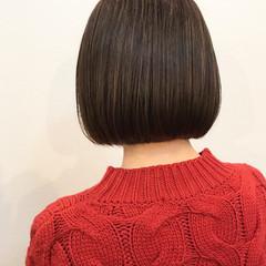 ナチュラル ミニボブ 大人女子 ボブ ヘアスタイルや髪型の写真・画像