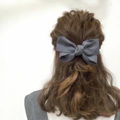 ミディアム ゆるふわ フェミニン 愛され ヘアスタイルや髪型の写真・画像