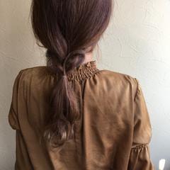 オフィス ナチュラル 大人かわいい ロング ヘアスタイルや髪型の写真・画像