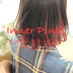 透明感カラー ダブルカラー ヘアカラー フェミニン ヘアスタイルや髪型の写真・画像