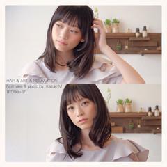 デート 透明感 オフィス 秋 ヘアスタイルや髪型の写真・画像