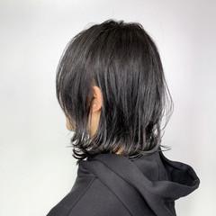 レイヤーカット ウルフカット グレージュ TOKIOトリートメント ヘアスタイルや髪型の写真・画像