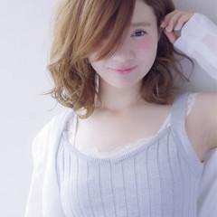 ガーリー 大人かわいい 外国人風 ゆるふわ ヘアスタイルや髪型の写真・画像
