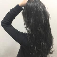 黒髪 ストリート 暗髪 外国人風 ヘアスタイルや髪型の写真・画像