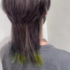 ショート ウルフレイヤー メンズヘア ネオウルフ ヘアスタイルや髪型の写真・画像