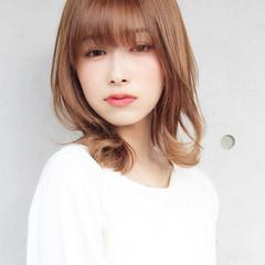 ミディアム 大人かわいい 大人女子 大人可愛い ヘアスタイルや髪型の写真・画像