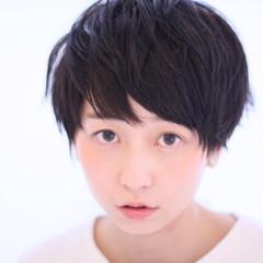 子供 ガーリー ピュア ボーイッシュ ヘアスタイルや髪型の写真・画像