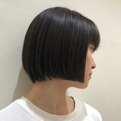 ボブ ショートヘア ミニボブ 小顔ショート ヘアスタイルや髪型の写真・画像