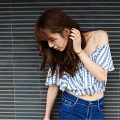 大人かわいい 外国人風 ゆるふわ ロング ヘアスタイルや髪型の写真・画像