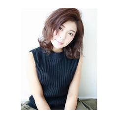 冬 外国人風 ナチュラル 前髪あり ヘアスタイルや髪型の写真・画像