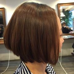 大人女子 ショート コンサバ 前髪なし ヘアスタイルや髪型の写真・画像