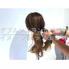 ナチュラル オフィス デート ロング ヘアスタイルや髪型の写真・画像