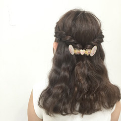ヘアアレンジ フェミニン 愛され 大人かわいい ヘアスタイルや髪型の写真・画像