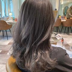 モテ髪 エレガント セミロング 小顔ヘア ヘアスタイルや髪型の写真・画像