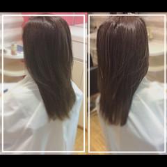 髪質改善 ナチュラル 艶髪 ハイトーン ヘアスタイルや髪型の写真・画像