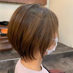 ショート ハンサムショート ナチュラル ベリーショート ヘアスタイルや髪型の写真・画像