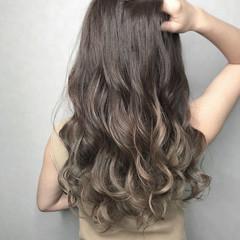 透明感カラー 外国人風カラー ロング デート ヘアスタイルや髪型の写真・画像