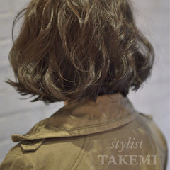 アッシュ 暗髪 ゆるふわ 外国人風 ヘアスタイルや髪型の写真・画像