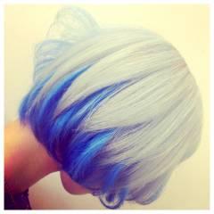 ダブルカラー インナーカラー ヘアスタイルや髪型の写真・画像