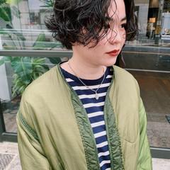 ショートヘア ショート ストリート ショートパーマ ヘアスタイルや髪型の写真・画像