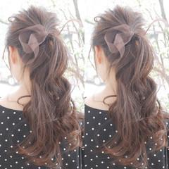 ヘアアレンジ 女子力 ショート エフォートレス ヘアスタイルや髪型の写真・画像